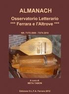 ALMANACH Osservatorio Letterario *** Ferrara e l'Altrove***