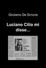 copertina Luciano Cilio mi disse…
