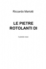 copertina LE PIETRE ROTOLANTI DI KARONDAN