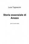 Storia essenziale di Arezzo